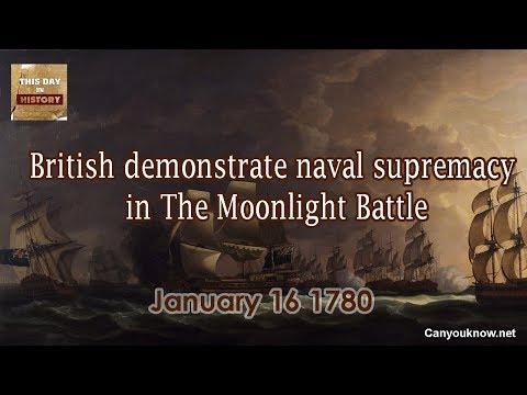 British demonstrate naval supremacy in The Moonlight Battle