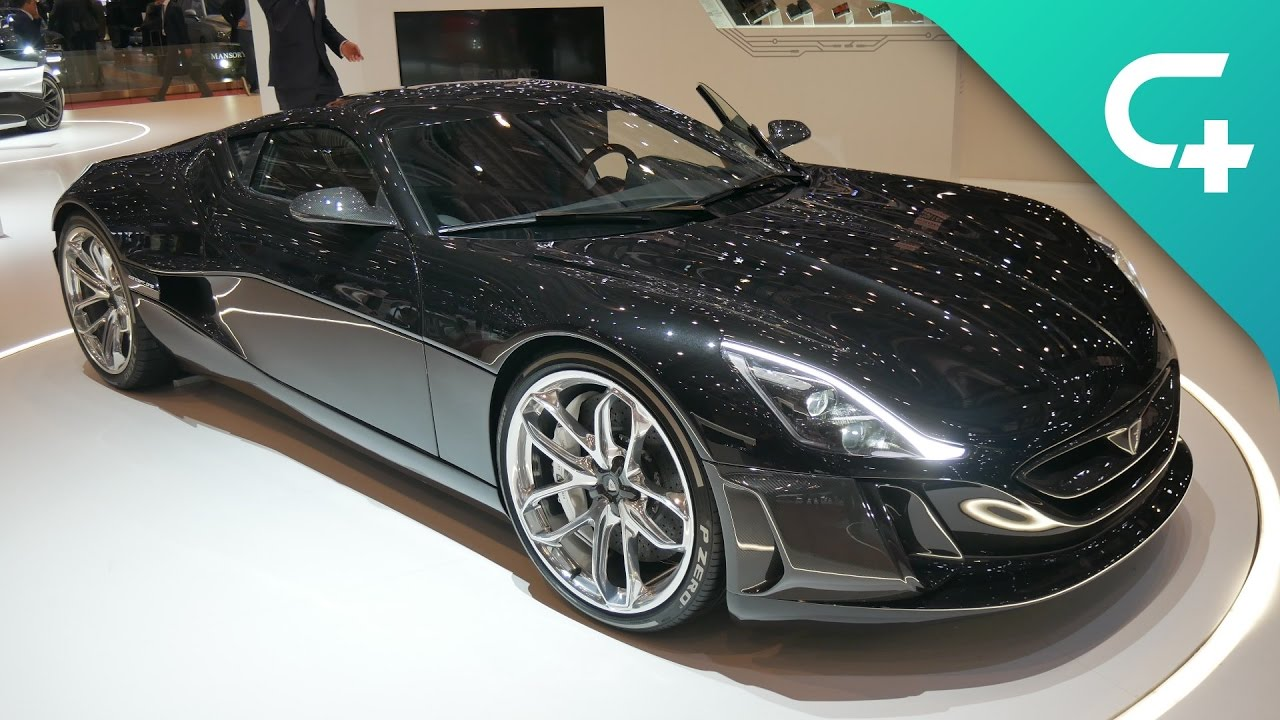 Rimac Concept One Refresh 1224hp Electric Monster