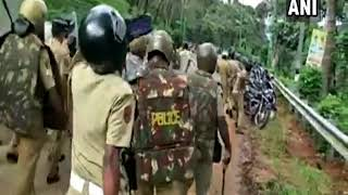 WATCH: Kerala police vandalize vehicles parked in Sabarimala