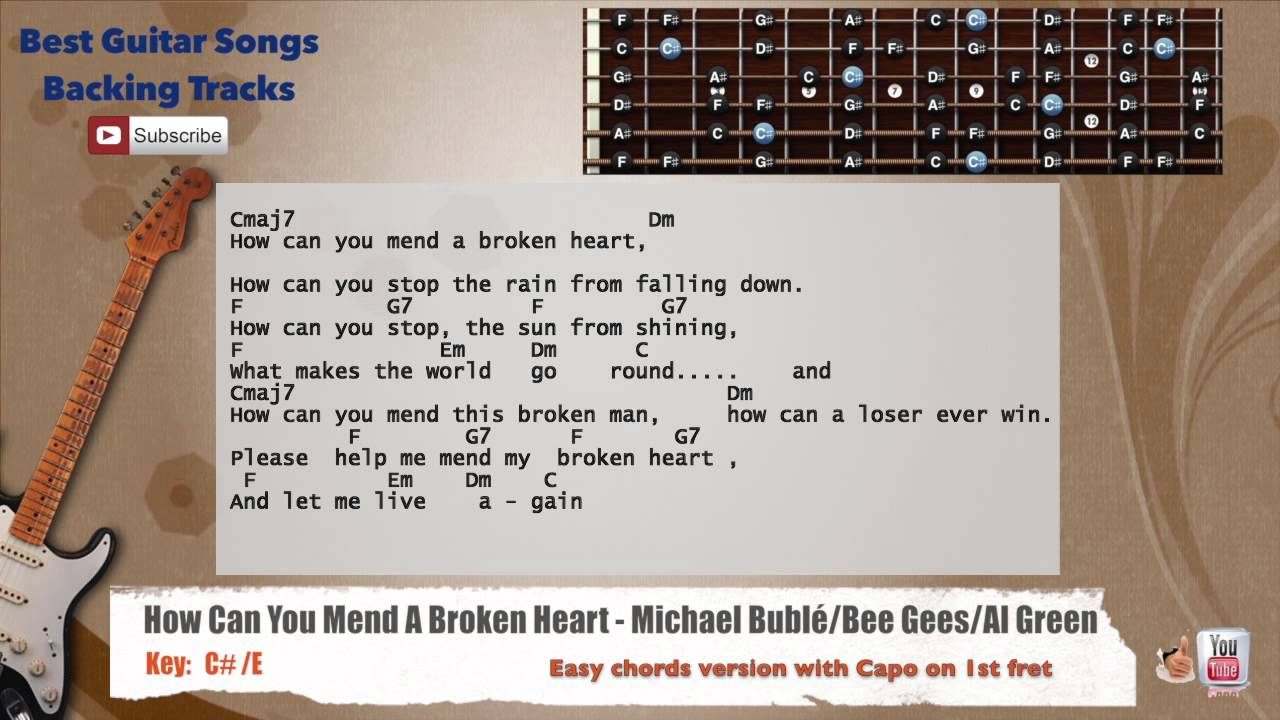 How Can You Mend A Broken Heart Michael Bubl Bee Gees Al