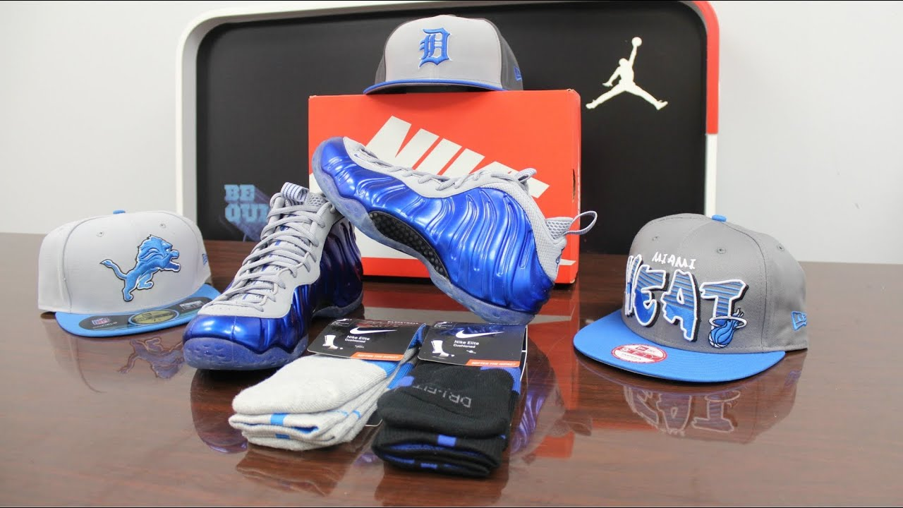 d3fd5af63d6e2 Nike Foamposite One Sport Royal Review - YouTube