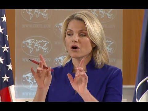 Heather Nauert Pisses off Turkish Reporter When She Exposes Him! Heather Nauert vs Turkish Reporter