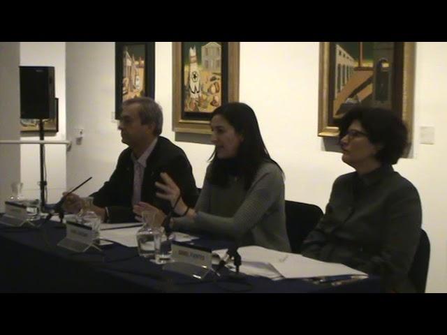 Presentación de la exposición EL MUNDO DE GIORGIO DE CHIRICO, en CaixaForum de Madrid