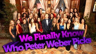The Bachelor Spoilers: We Finally Know Who Peter Weber Picks in the Finale and Man Alive