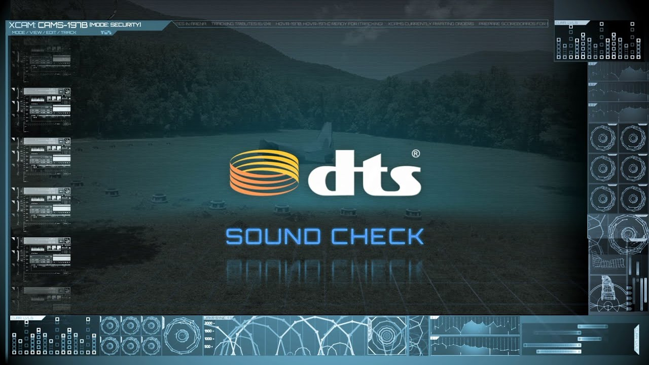 DTS HD Master Audio 7.1 Surround Sound Test with original file - YouTube