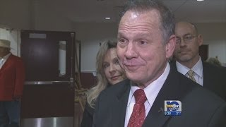 Judge Moore rallies against gay marriage