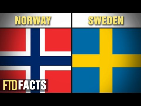 The Differences Between NORWAY and SWEDEN