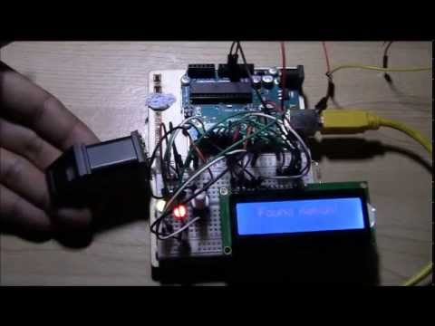 ARDUINO FINGERPRINT SCANNER WITH 16X2 LCD