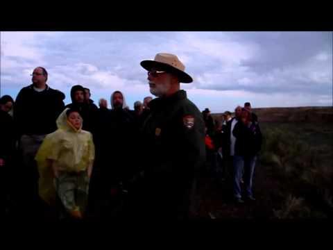 Ranger Dedicates Equinox at Casa Rinconada Chaco Canyon National Historic Park