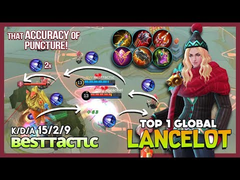 "King Carry Of Assassins? вeѕттacтιc Top 1 Global Lancelot ""Timing Is The Key"" ~ Mobile Legends"