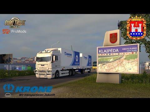 ETS2 I MAN TGX 2010 ★ Mit Krone Richtung  Kaliningrad ★ #661 ProMods-Tour [Deutsch/HD]