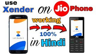 How to Use Xender App on Jio Phone | Hindi |