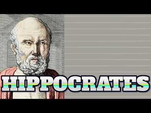 [Fun facts Biographies 18] Make sure you know about HIPPOCRATES facts