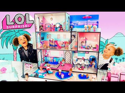 LOL Surprise! | NEW LOL Surprise House with 85+ Surprises! | Commercial