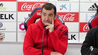 Diego Martínez | Previa C. A. Osasuna - Córdoba C. F.