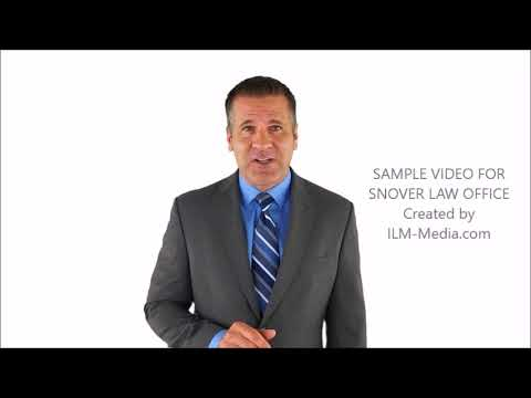 Sample Video for Snover Law Office
