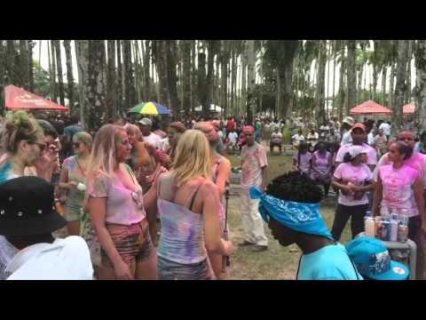 Holi phagwa 2016 Paramaribo Suriname