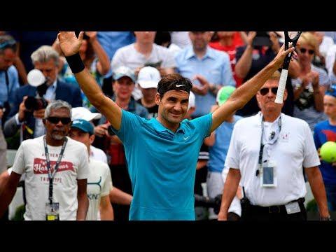 Match Point: Watch Federer Clinch The Stuttgart 2018 Title