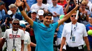 Watch Federer Clinch The Stuttgart 2018 Title
