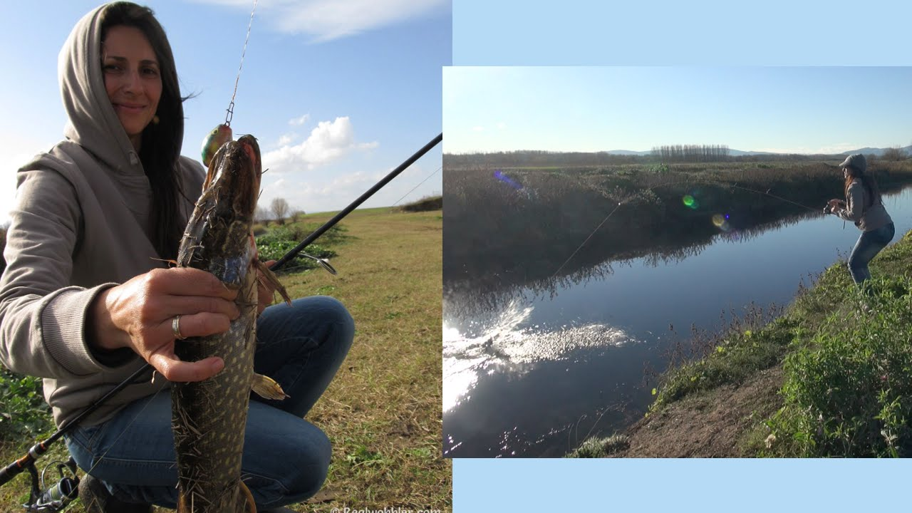 Topwater Weedless Fishing for Pike with Custom Belly Lures II/ Hechtangeln  mit Oberflächenköder II