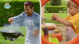 Set domček so záhradnou reštauráciou Chef House De
