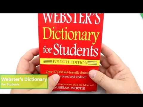Webster's Dictionary for Students Review by UiSchoolSupply