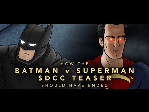 How The Batman v Superman SDCC Teaser Should Have Ended