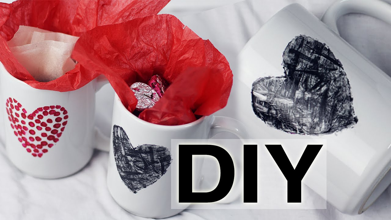 Diy decora tus tazas con esmalte brenzzvlog doovi - Como decorar una taza ...