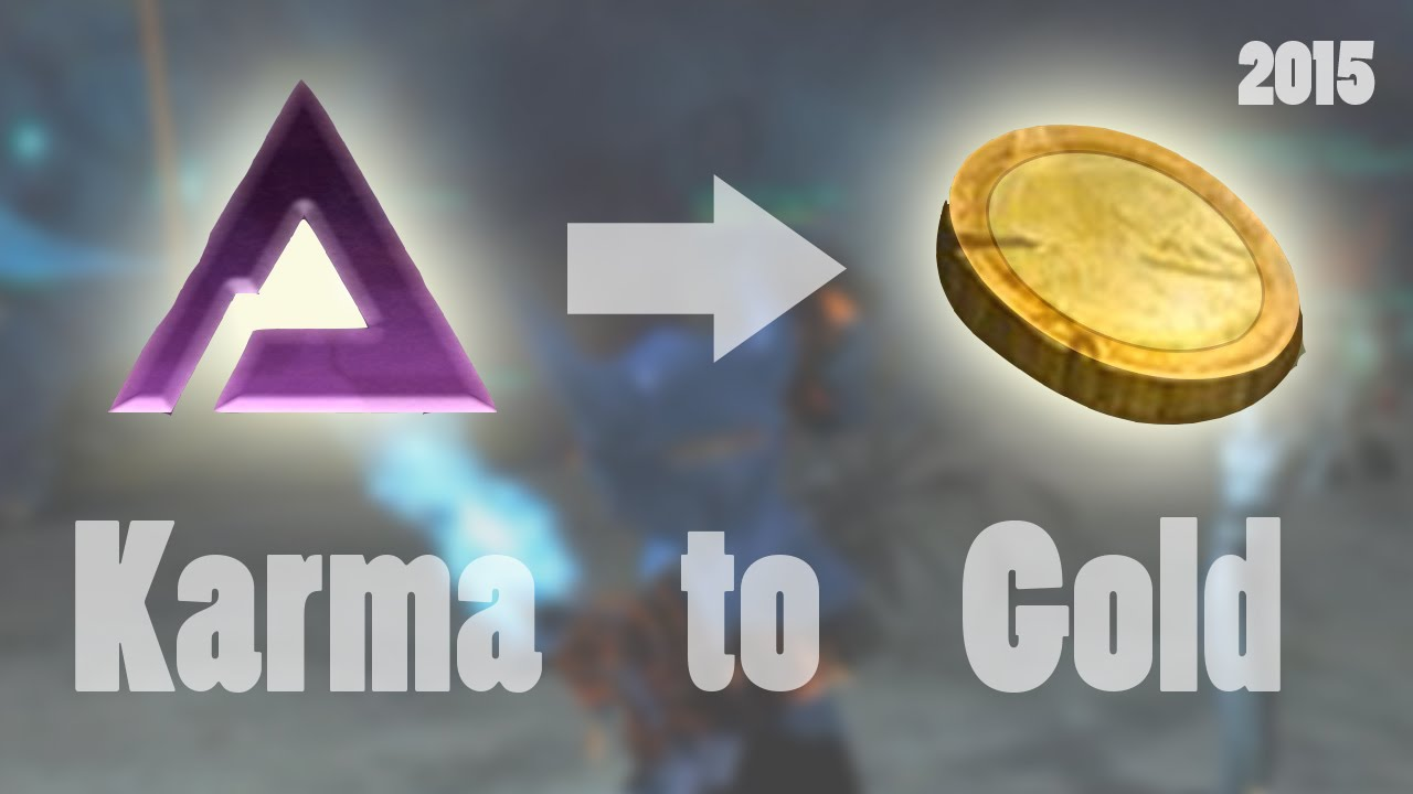 how to get karma gw2