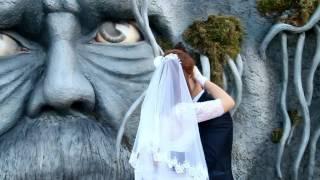 Осенняя свадебная прогулка на озере Литовка (видеосъёмка Новогрудок)