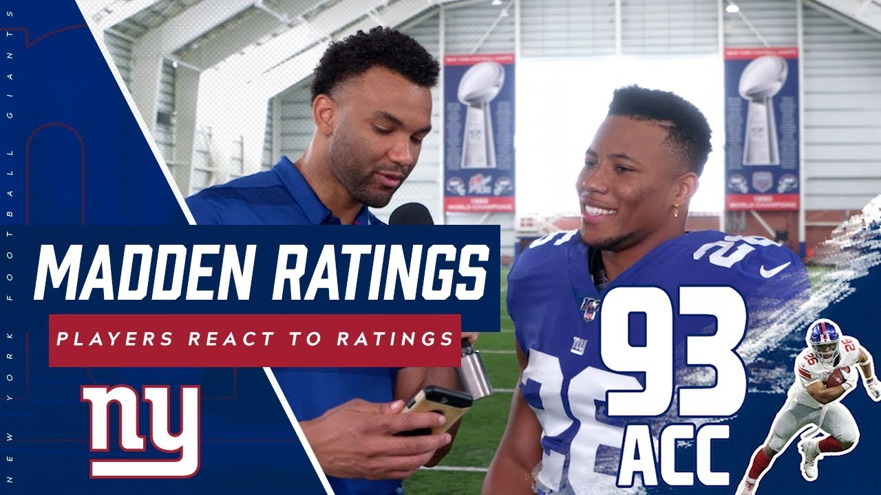 NFL players react to Madden 20 ratings (video) | SI com