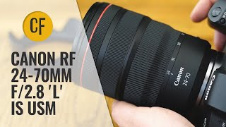 Canon RF 24-70mm f/2.8 IS USM lens review with samples
