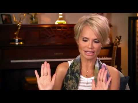 Kristin Chenoweth on Oprah TV (wearing Amelia Rachim Jewellery)