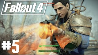 Fallout 4 - Part 5 - Minutemen, On Walden Pond and Sully Mathis