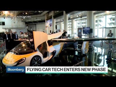Flying Car Technology Enters New Phase