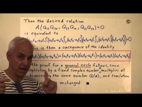 MathFoundations131: Ptolemy's theorem and generalizations