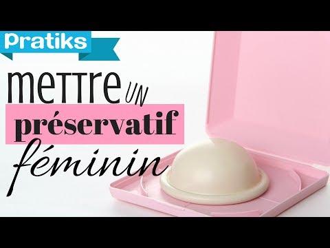 Comment mettre un préservatif féminin ou fémidon ?