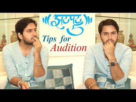 Quick 5 Tips For Audition | Siddharth Chandekar | Lost & Found Marathi Movie