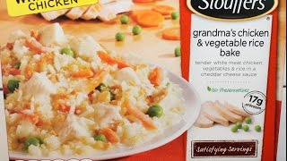 Stouffer's Grandma's Chicken & Vegetable Rice Bake Review