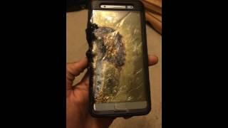 «سامسونج» تستدعي ملايين الأجهزة عقب «انفجار» الـ «نوت 7» (فيديو)   المصري اليوم