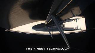 100ft Luxury Sailing Yacht by Infiniti Yachts, HD Superyacht in 3D