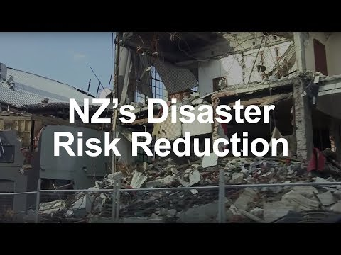 New Zealand's approach to Disaster Risk Reduction