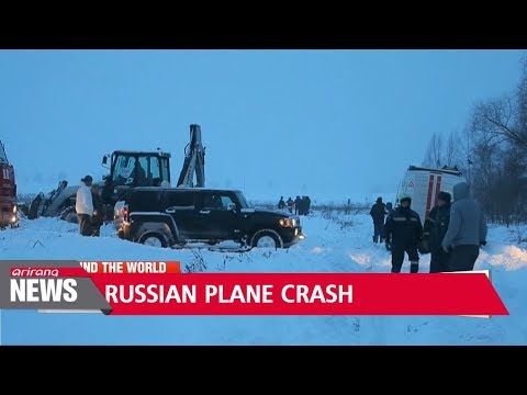 Russian airliner crashes near Moscow after takeoff, kills all 71 on board