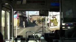 【My 路線バス】 岐阜バス 加納南線 狭隘区間  忠節→近の島