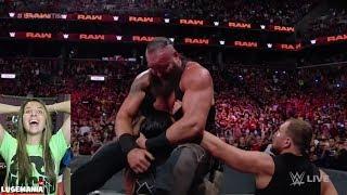 WWE Raw 8/20/18 The Shield Reunite to take on BRAUN
