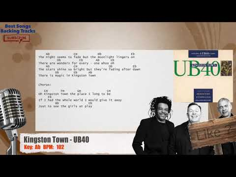 Kingston Town - UB40 Vocal Backing Track With Chords And Lyrics