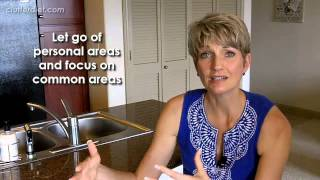 How to Deal with Disorganized Family Members, Part 1 | Clutter Video Tip