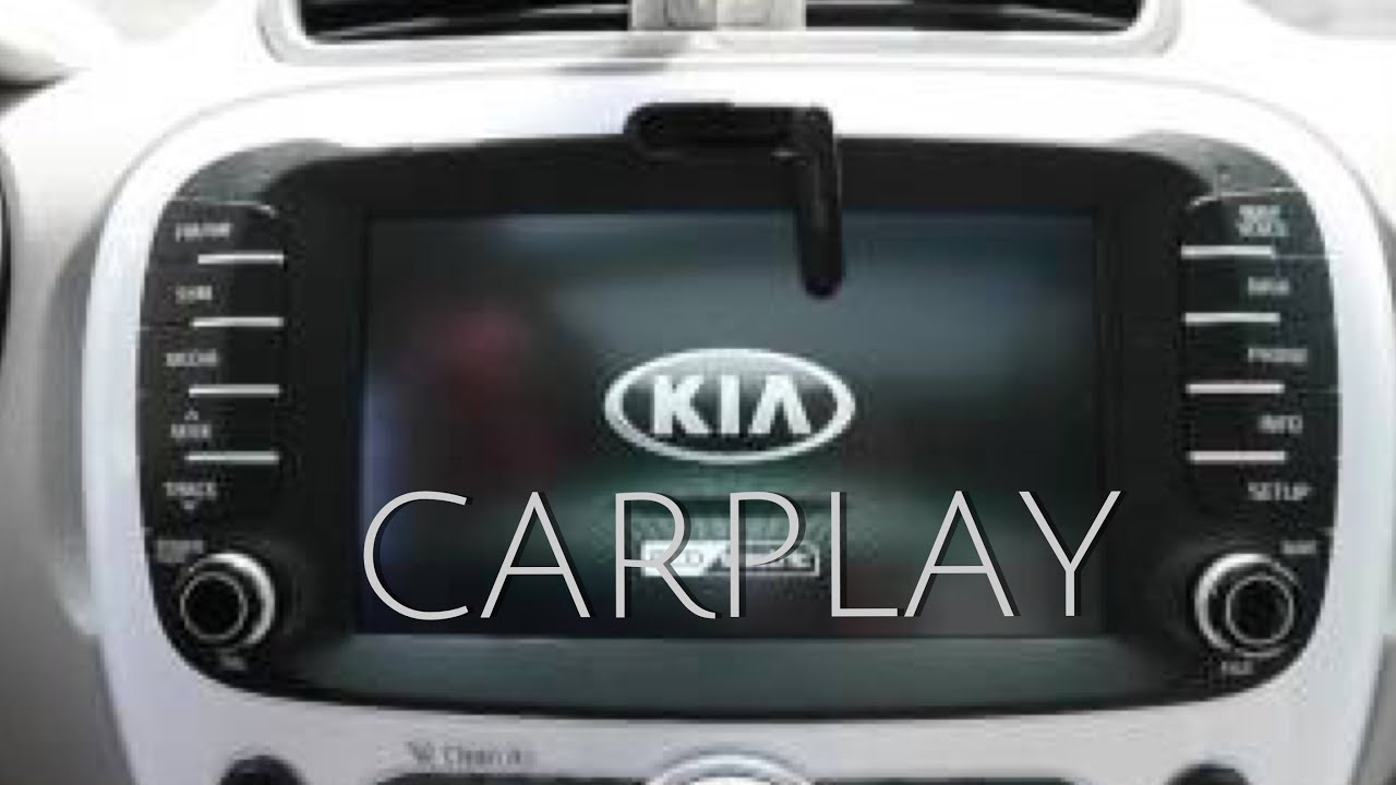 KIA owners install Apple Carplay and Android Auto