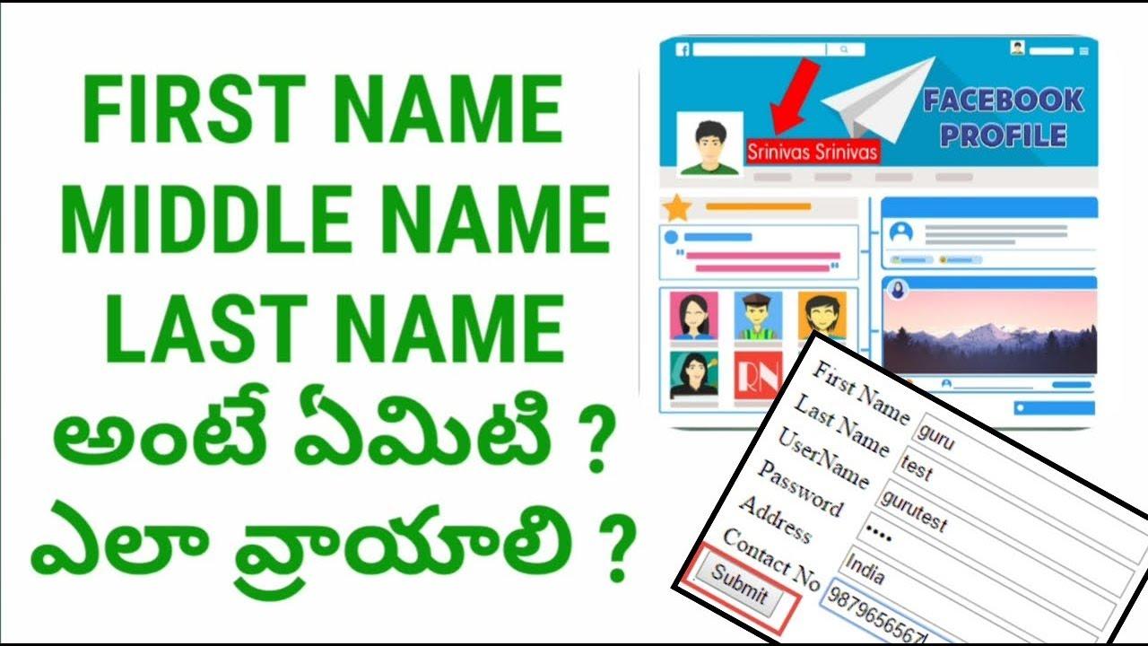 英文first name middle name How – Hvamw