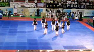 World Taekwondo Hanmadang 2011 (태권체조 - 주니어1)